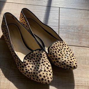 flat cheetah shoes